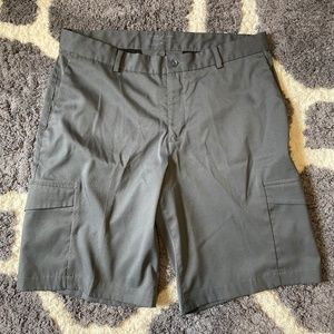 Nike Golf Dri-Fit Gray Shorts - Men's 34